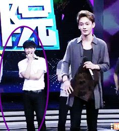 Lay is seriously giving my bias chart a beating. (GIF)