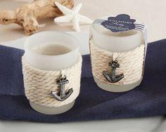Nautical Tea Light Holders (Set of 4)