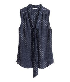 H&M dotted tie blouse (meeting-perfect with deconstructed skinnies and heeled sandals!)