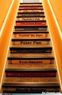 Escalera para subir a la imaginación ¡AÚPA !