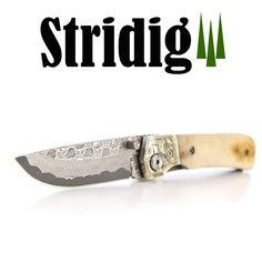 Kniv i Damaskusstål – håndlaget med et flott blad
