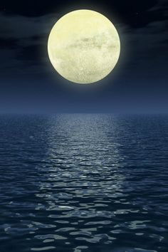 5. I want to spend a night by the seashore, just talking with those close to my heart and watching the moon.