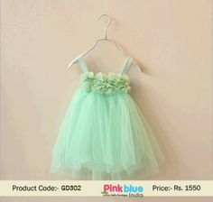 29812c72c9aa Designer Sleeveless Net Wedding Dress for Little Princess, Baby Summer  party Dress, Kids Fashion