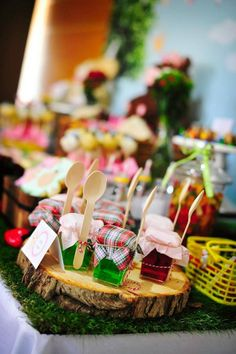picnic theme party | ... Picnic party ideas and elements from this awesome birthday party are