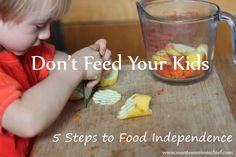 Montessori your fridge: Five steps to food independence from Montessori Mischief