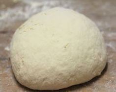 THE most amazing pizza dough ever ~ 1 cup of greek yogurt and 1 cup of Self Rising flour.....................thats it!  This quantity makes a single pizza, but you can increase the ingredients and feed a cro,wd if you want to.