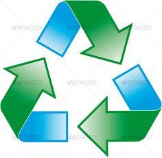 Recycle Symbol Clip Art at Clker.com - vector clip art online ...