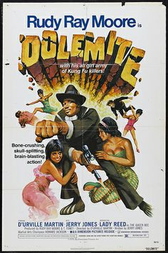 """Eddie Murphy (center) stars as Rudy Ray Moore in the Netflix movie """"Dolemite is My Name,"""" a biopic about the making of the 1975 blaxploitation film """"Dolemite. Pulp Fiction, Science Fiction, Rudy Ray Moore, Old School Movies, School Tv, African American Movies, Movie Poster Art, The Villain, Vintage Movies"""