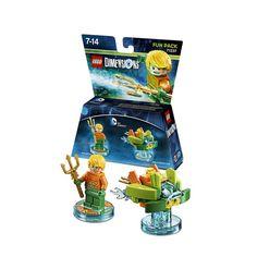 LEGO Dimensions packs: 71237 - DC Comics Aquaman Fun Pack #lego #LegoDimensions #videogames #videogame