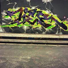"_graffitigoons_: ""TIER 2015 #GRAFFITI  #PAINTING #ACTION #GRAFFITIGOONS #MODERNART #COLORS #ARTWORK #URBANWALLS #FOLLOW"""