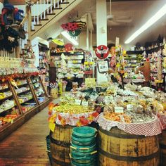Old fashion Candy store in Asheville..