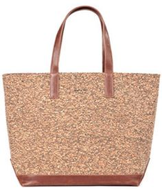 Matt & Nat Vegan Tote made with cork material and 100% recycled nylon lining