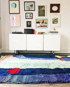 More M'rirts. We have these in 8x10, 5x8, and 3.5x7. Larger sizes available on special order. #torontointeriordesign #contemporaryrugs #ooak #moroccanrugs