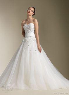 Justin Alexander Wedding Dresses Spring 2012 This.