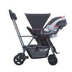 Amazon.com : JOOVY Caboose Ultralight Graphite Stroller, Black : Baby