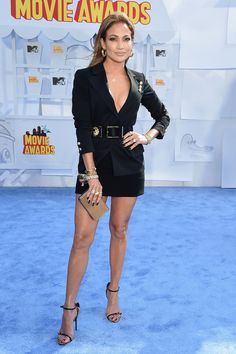 Jennifer Lopez attends the 2015 MTV Movie Awards at Nokia Theatre in Los Angeles on April 12, 2015.   - Cosmopolitan.com