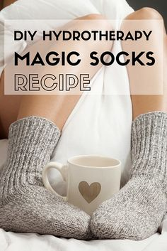Treating Colds And Flus Naturally: Magic Socks Recipe From A Naturopathic Doctor