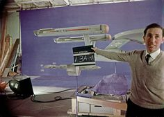 Studio Models of Enterprise, Botany Bay with Slate Scene 13A-1 by birdofthegalaxy, via Flickr