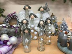 Andělé z láhvi  -  ( DIY, Hobby, Crafts, Homemade, Handmade, Creative, Ideas, Handy hands)
