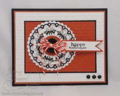 Prickley Pear Rubber Stamps:  CLR013A Circles Clear Stamp Set - Fall