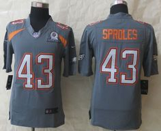 f51950f5889 Nike Eagles Darren Sproles Grey Pro Bowl Men s Stitched NFL Elite Team  Irvin Jersey And Jason Witten 82 jersey