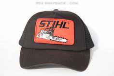 Stihl Vintage Snapback Hat - manly, trucker