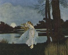 The Enchanted Forest, Ida Rentoul Outhwaite bedraggled sad fairy I loved this illustration as a child! I'm sure they formed my style!