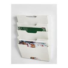 white magazine wall rack - Google Search