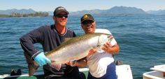 Fancy catching a monster fish like this? Join or fishing charters and you will! Sport Fishing, Fishing Boats, Fly Fishing, Pacific Salmon, Monster Fishing, Fishing Charters, Vancouver Island, West Coast, Join