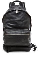 KRIS VAN ASSCHE  x Eastpack Backpack in Black Leather