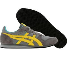 b75db7982b11 Asics Womens Corrido (grey   yellow) Shoes H071L-1104