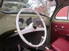 1957 Euro VW Beetle Oval Window Ragtop For Sale @ Oldbug.com