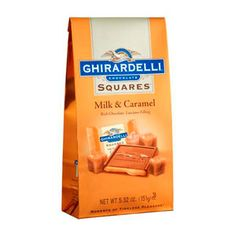 Milk & Caramel SQUARES Stand Up Bag (Ghirardelli - 4% donation)