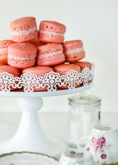 Iced Vovo Macarons are a special dessert only made sometimes