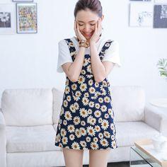 花朵女孩吊帶裙  Cute floral girls.