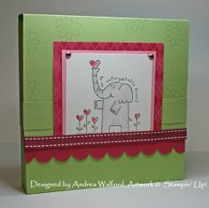 Stampin Up Projects | Happy Heart Day Stampin' Up! Projects