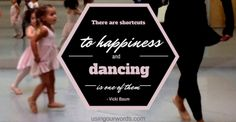 A post about the one thing my happy daughter taught me during a challenging week. #quote #quoteable #happiness #dancing #kidsareteachers #preschool #backtoschool #choosehappiness #ballet