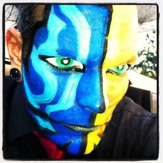 Photo by jeffhardybrand Hardy Brothers, Brothers In Arms, Wwe Jeff Hardy, The Hardy Boyz, Cool Face, Creatures Of The Night, Wwe Superstars, Wwe Stuff, Face Paintings