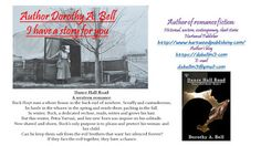 Shadows of the Past: Book Promo - Dorothy Bell and her Dance Hall Road Friend Book, Dance Hall, Wild Child, Old Friends, Shadows, The Past, Author, Reading, Books
