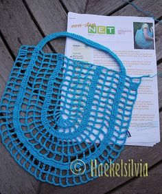 Ravelry: Nonstop net pattern by Katharina Sokiran Ravelry: patrón de red sin escalas but Katharina Sokiran – Woman's Portal This Pin was discovered by Lud Filet Crochet, Crochet Stitches, Knit Crochet, Crochet Handbags, Crochet Purses, Knitting Patterns, Crochet Market Bag, Knitted Bags, Quilt Blocks