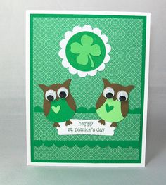 Happy St Patrick's Day Card  Handmade Greeting by AcarrdianCards, $3.75