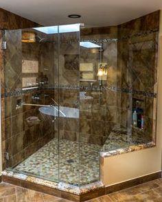 Organic Feel for Master Bathroom
