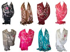 These scarves are warm and comfortable to use, Suitable for any occasion. Fantastic Bargainful Ethnic Embroidered with Sequences Pashmina Feel Scarf Shawl Wrap Stole Head Scarves. The most flexible scarf you'll ever own! Shoulder Bags For School, Paisley Scarves, Vintage Scarf, Pashmina Scarf, Scarf Styles, Scarf Wrap, Ethnic, Cashmere, Shawls
