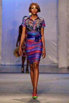 ♥Alain Niava @ Kinshasa Fashion Week 2013