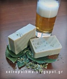 soap for hair with beer Diy Furniture Wax, Chamomile Essential Oil, Essential Oils, Shampoo Bar, Home Made Soap, Natural Cosmetics, Soap Making, Etsy Handmade, Diy Beauty