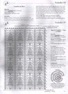 Crochê Gráfico: Capa de bujão + Tapete + Pegador de panela