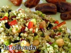 Ensalada de bulgur con dátiles – La olivada