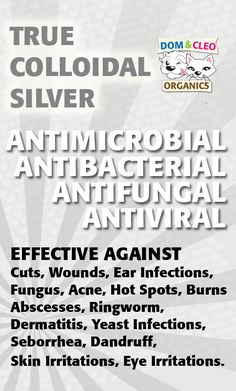 Colloidal Silver Uses | Great Stuff!
