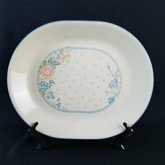 Corelle Symphony Oval Platter Corelle Patterns, Platter, Dinnerware, Decorative Plates, Tableware, How To Make, Dinner Ware, Dining Ware, Tablewares