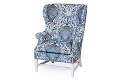 Wescott Chair; wesley hall  love the fabric